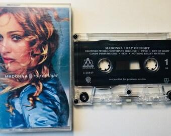 Madonna : Ray Of Light (Caasette Tape)