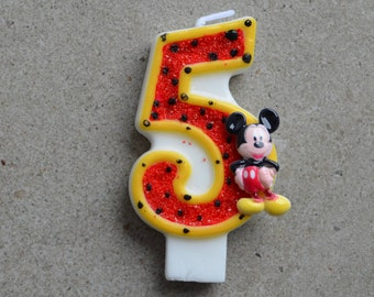 Mickey Mouse / Mickey mouse candle / disney candles / mickey mouse 1 / mickey mouse party / mickey mouse theme / mickey mouse birthday