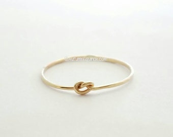Thin Knot Ring 14k Gold Filled