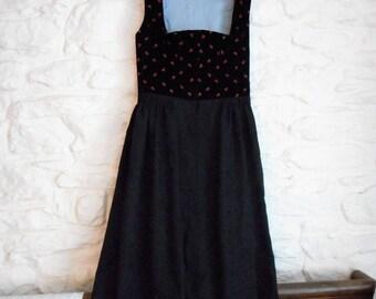 Vintage Austrian dress