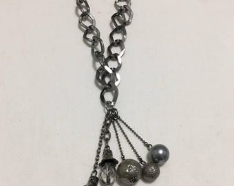 Gun Metal with Gray Baubles (#268)