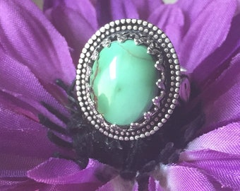 Pretty Little Royston Princess Ring, Adjustable size 6-11, Sterling Silver