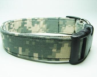Urban Army Camouflage Dog Collar