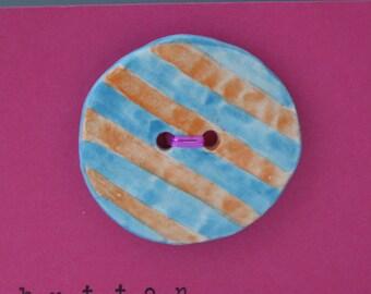 Ceramic Button, Buttons Ceramic, Green Ceramic Buttons, Extra Large Buttons, Childrens Buttons, Large