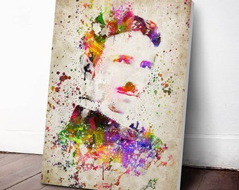 Nikola Tesla Canvas Print, Nikola Tesla Art,Nikola Tesla Wall Decor, Nikola Tesla Decor,Home Decor, Gift Idea