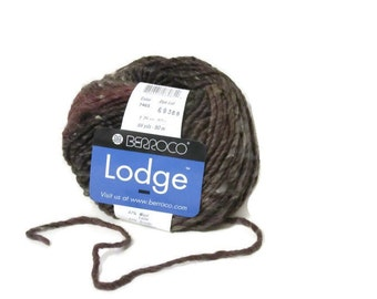 Yarn, Wool, Berroco, Lodge, Iron Mountain, Wool Blend, Knitting, Crochet, Fiber Arts, Christmas, Gifts For Her, Women, Textiles, 7465