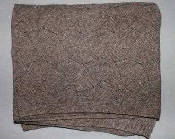 SCARF 100% YAK wool, Rare! Made in Mongolia