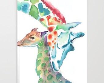 Giraffe journal giraffe notebook college notebook giraffe gift gift for her animal notebook giraffe diary tween diary gift for tween
