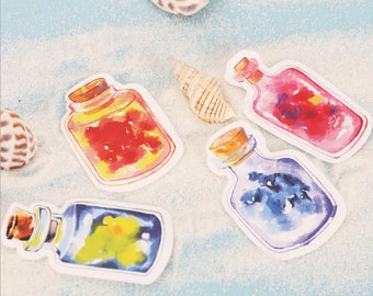 Glass Jar Sticky Notes