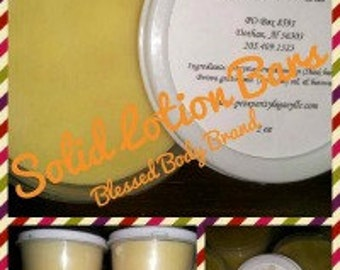 Solid Lotion Bar