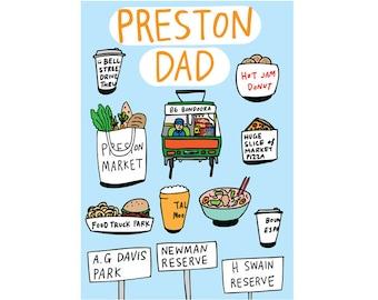 Father's Day Card - Preston Dad