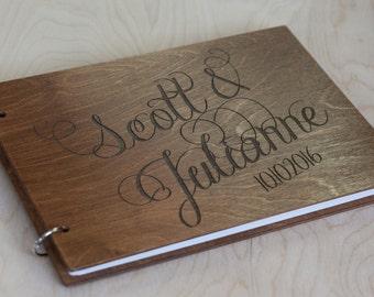 Guest Book, Wedding Guest Book, Wedding Album, Rustic Guest Book, Wedding, Wood Guest Book, Wedding Guestbook, Guestbook, Custom Guest Book