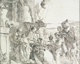 Poster, Many Sizes Available; Giovanni Battista Tiepolo Adoration Of The Magi