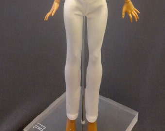 Tight pants/leggings/clothes for Monster high doll - White No: 730