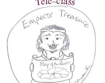 Emperor Treasure Teleclass Recording and Workbook - self-development class using the tarot archetype of the Emperor