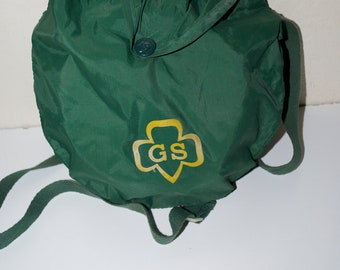 Vintage Girl Scout Scouts Canteen with Green Case