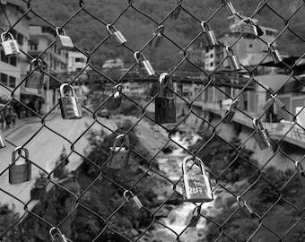 The locks of love, Cuzco, Peru.