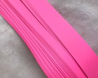 Bubblegum Pink~ Moravian German Froebel Star Paper (52 strips)