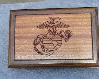 United States Marine Corp keepsake box