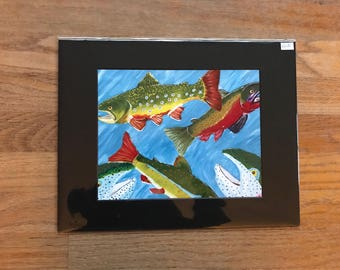 School of Fishes print