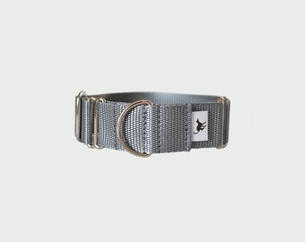 Martingale collar in Silver