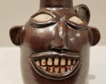 Small Face Jug - Traditional Style
