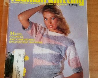 Fashion Knitting No. 18 Knitting Magazine