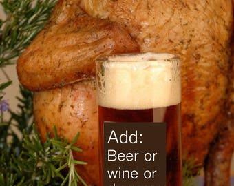 Glass Chicken Plug Roaster