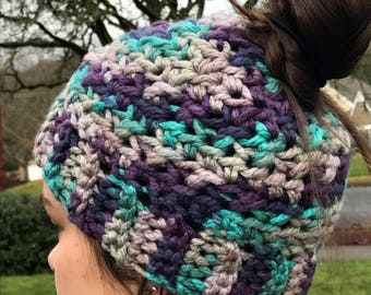 Messy Bun Hat - Sale item!