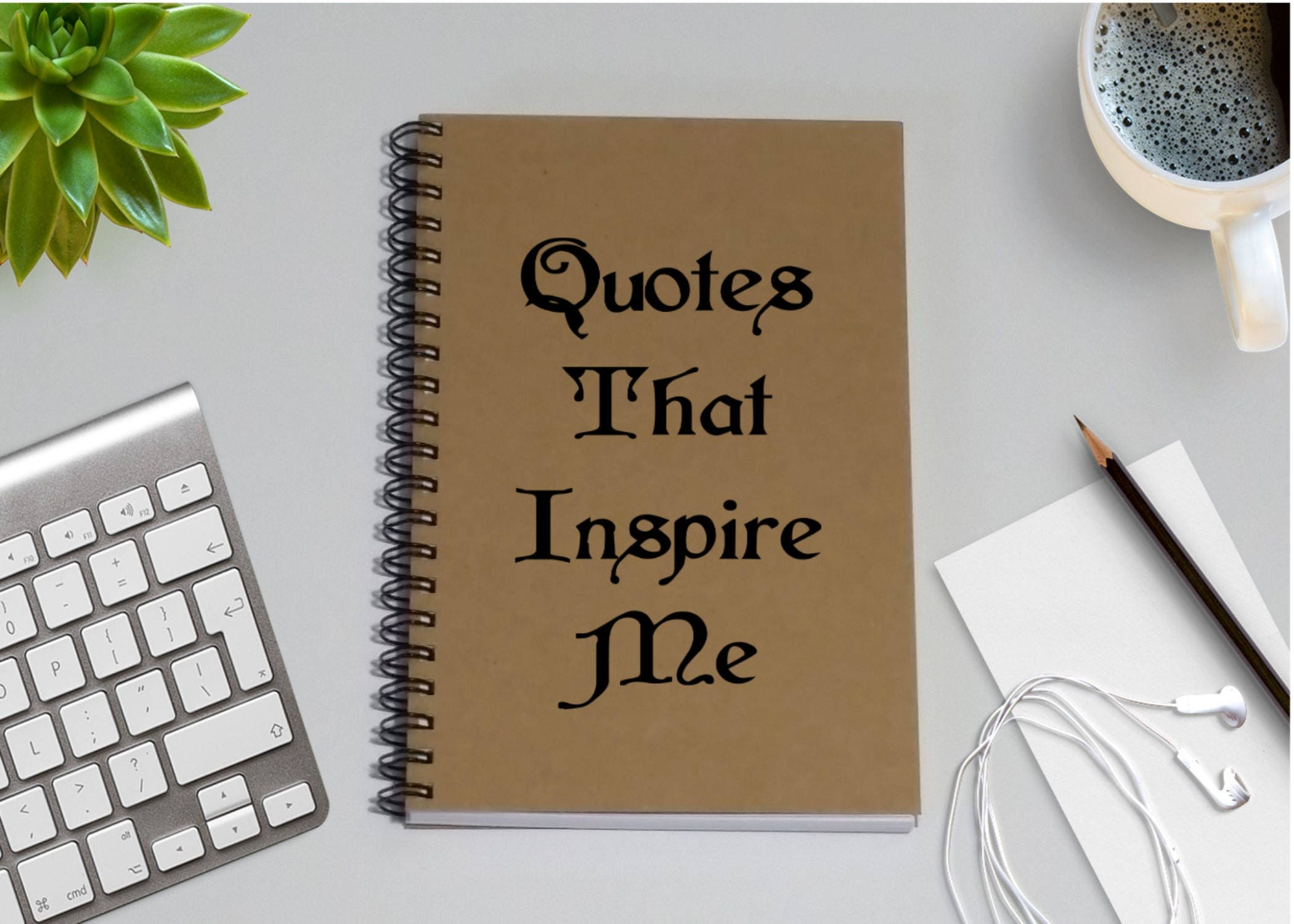 Quotes Journal Magnificent Journal Quotes That Inspire Me 5 X 7 Journal Notebook