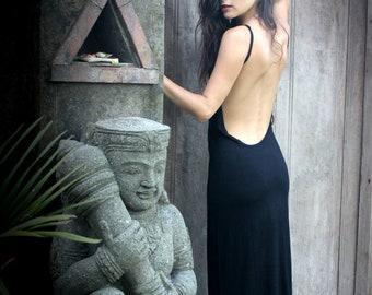 AGENT PROVOCATEUR ~ Little Black Dress Backless Dakini Simple Elegant LBD
