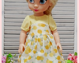 PDF Sewing Pattern for Disney Animator's Collection Doll Clothes - Simple Dress