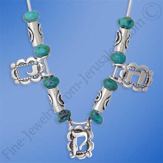 collier perle d'eilat