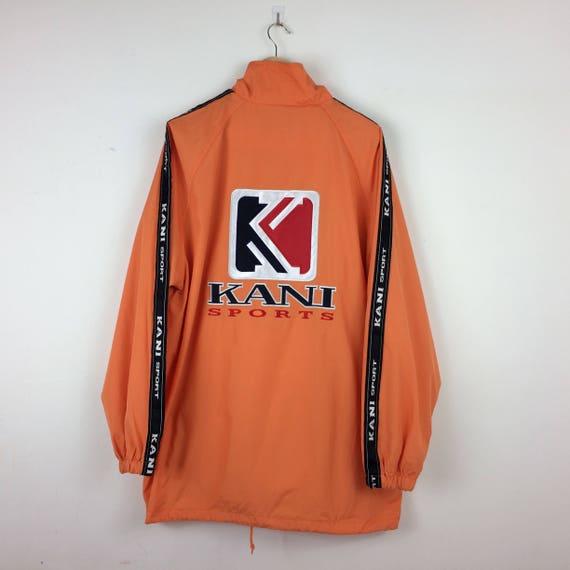 Vintage Down Jacket KARL KANI Embroidered big logo jacket/puffer / Bomber / sweater Hip Hop Swag Tupac Dre dNHfusv4