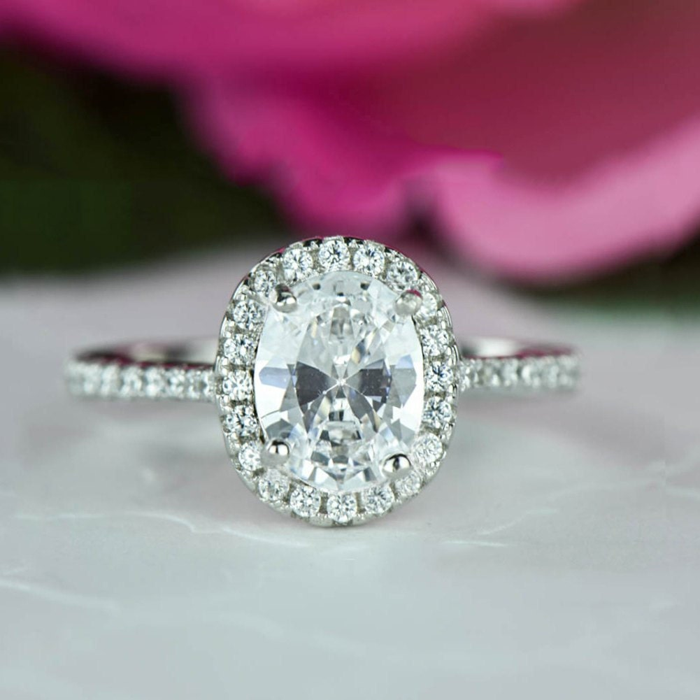 ring princess engagement band cut wedding man made diamond of unique