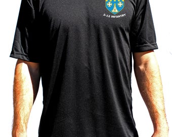 Blank Lethal Gear Black Performance T-Shirt