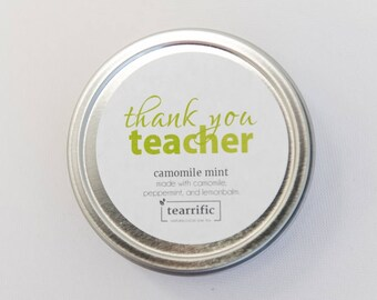 End of Year Gift for Teacher - Thanks Teacher - Gift For Teacher - Teacher Present - Best Teacher - Teacher Tea - Christmas Gift for Teacher