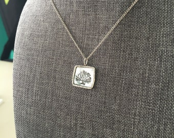 Tree Stamp Necklace