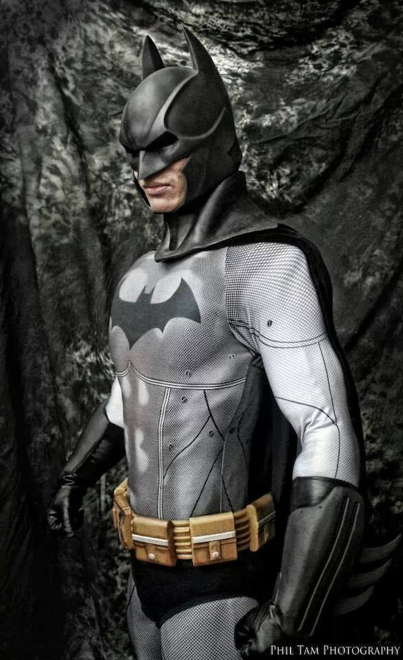 & Arkham City Batman Bodysuit