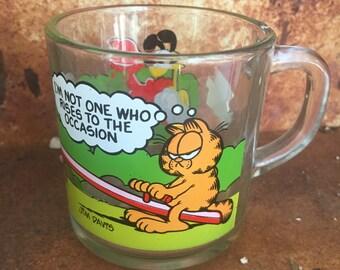 1980 Vintage McDonald's Garfield Mug