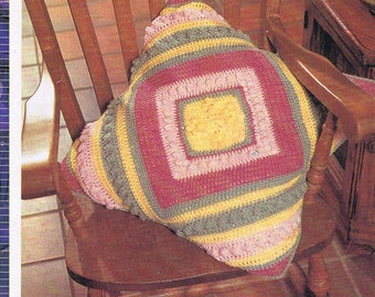 crochet pattern /pillow /bobble pillow crochet pattern/easy crochet