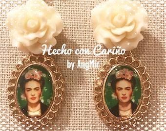Frida earrings - handmade