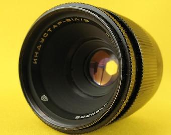 Lens INDUSTAR - 61 L/Z 2.8/50mm # 720308 Made in USSR 1972 M42 Russian Soviet