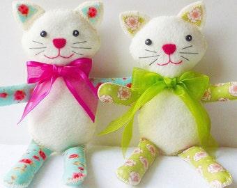 Dizzy Izzy Kitty Cat Doll pdf Sewing Pattern