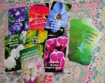 Floribunda Flower Wisdom Cards 52 card deck by Lynn Boyle. Brand New. Self Published.