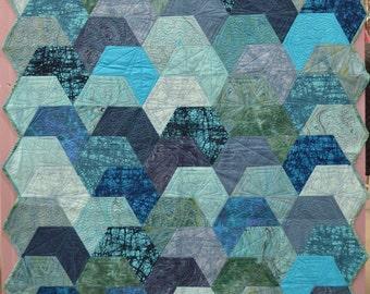 Splash & Mini Splash Quilt Pattern by Jaybird Quilts