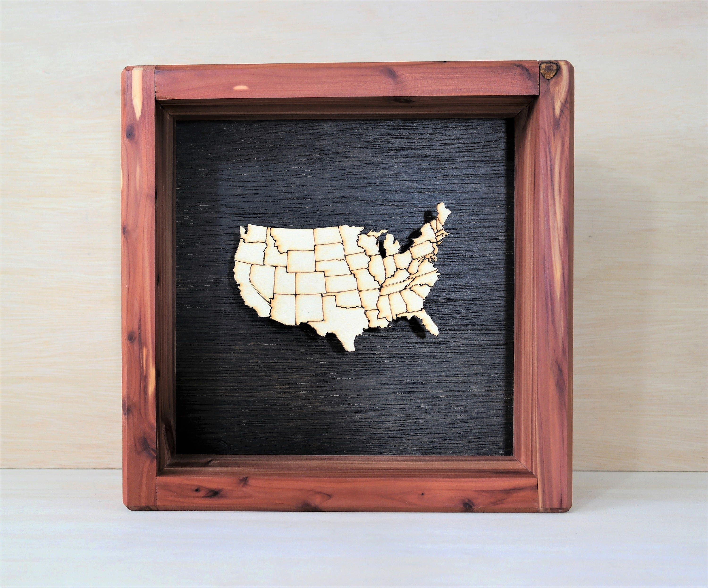 Modern Shadowbox Picture Frames Mold - Picture Frame Ideas ...