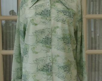 Green Blouse Size 18