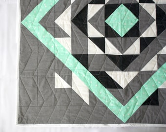 Custom pieced baby quilt