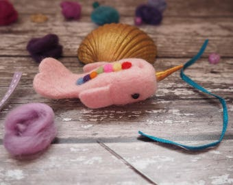 Narwhal, unicorn of the sea, pink narwhal, rainbow narwhal, cute narwhal, mythical, mythical creature, magical beast, home decor, gift.